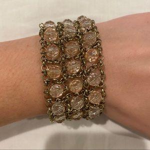 Thick Beaded Bracelet